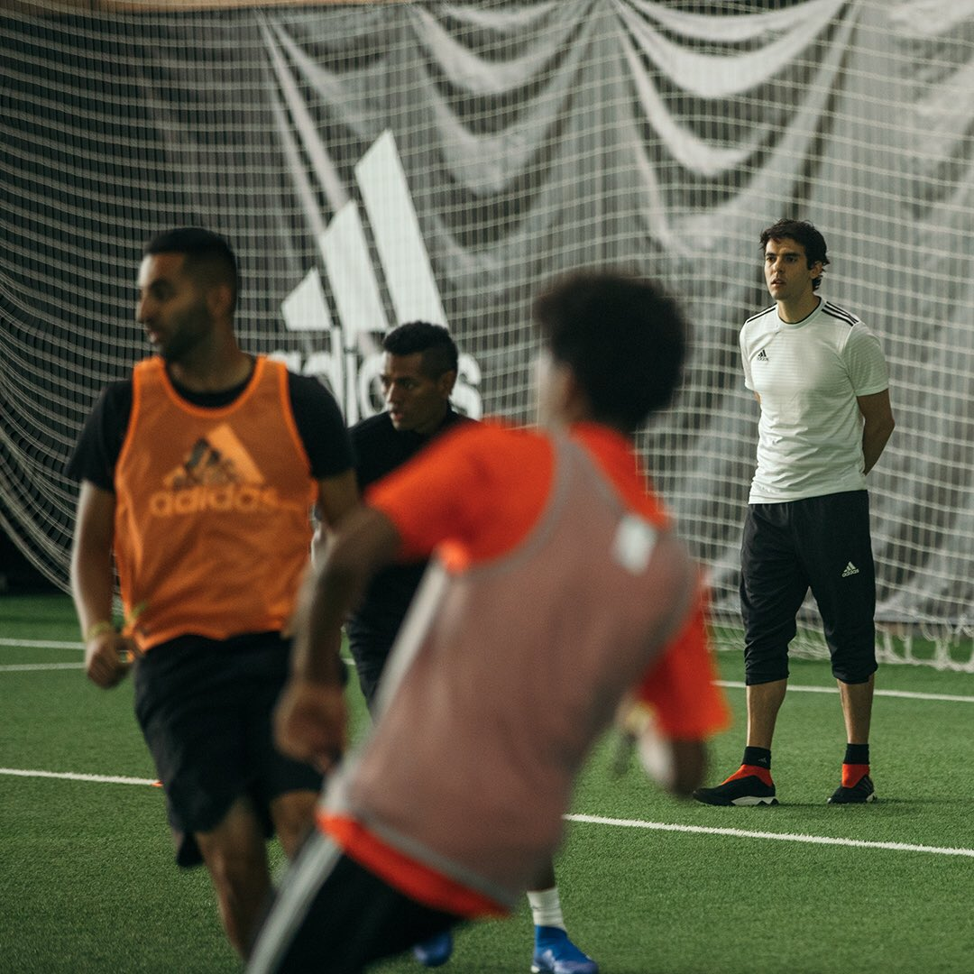 The new Tango talent. 👌⚽️        Good luck to the #TangoSquadFC trialists!                                                Full episode: https://t.co/ti6KbpRu5F #createdwithadidas
