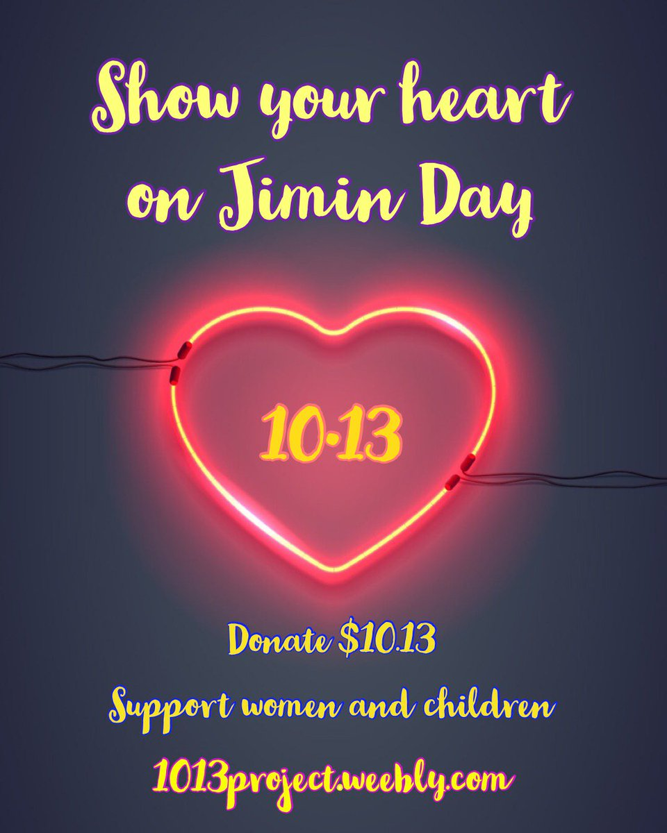 Dont Forget To Join Our Celebration Of Jimins Birthday By Donating 1013 Kanwin Chicago At Homepage 1013projectweebly Donation Page