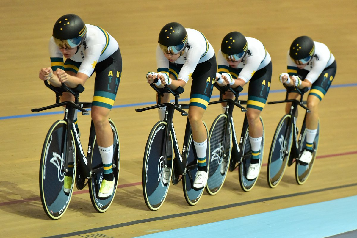 238d756d4 ... Australia dominate day one of 2019 Oceania Track Championships ...