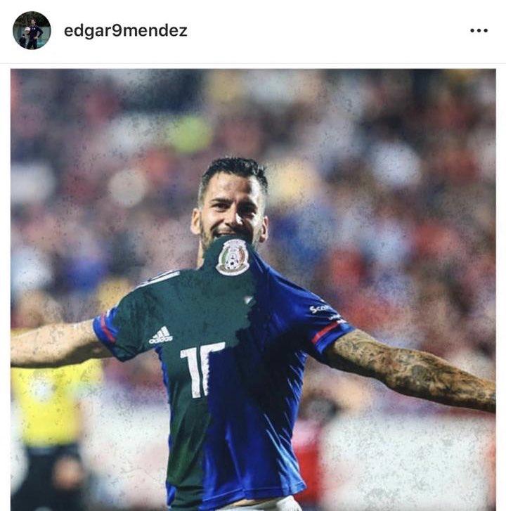 Édgar Méndez desea portar la camiseta Tricolor