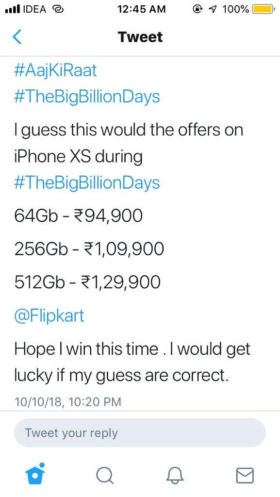 Flipkart on Twitter: