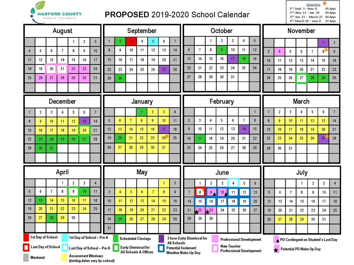 Wake County School Calendar 2020 HCPS on Twitter: