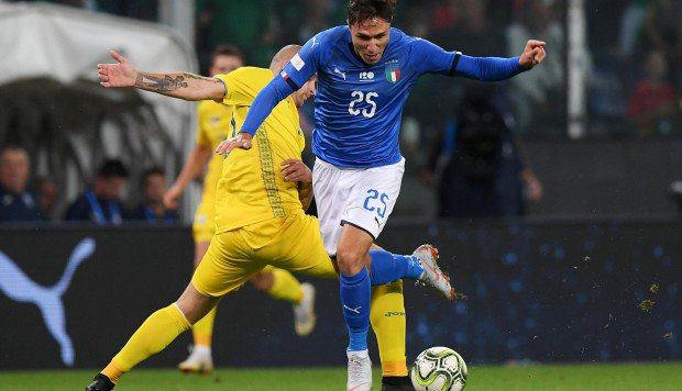 Италия - Украина 1:1. Ошибка Пятова, дебютный гол Малиновского и два разных тайма - изображение 1