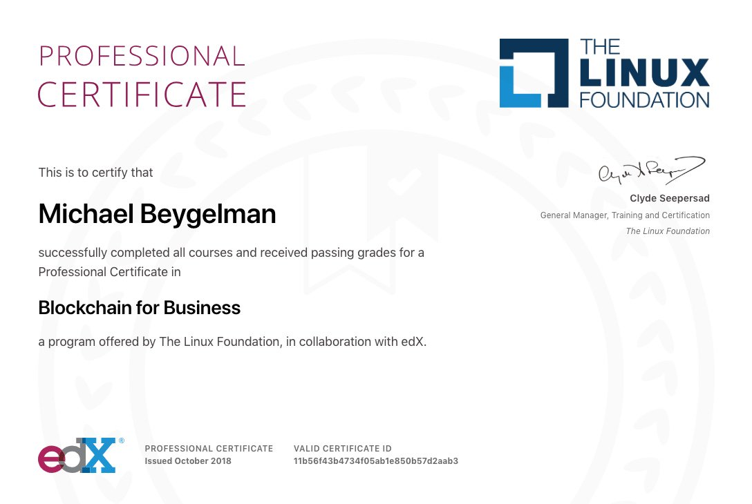 Michael Beygelman On Twitter I Did It Finished Courses From