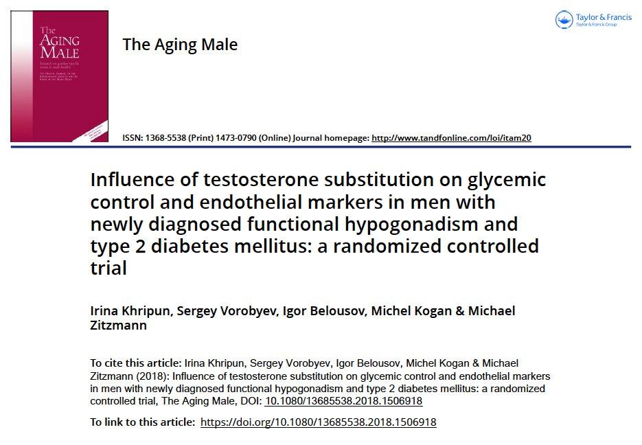 testosterona diabetes mellitus