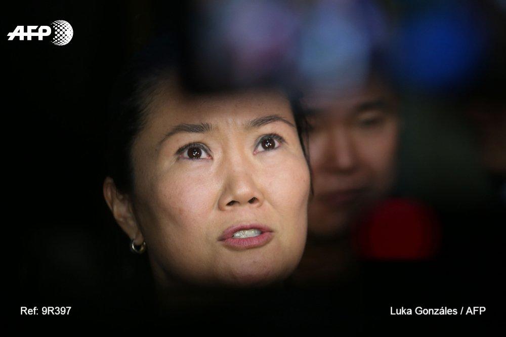 Agence France-Presse's photo on Keiko Fujimori