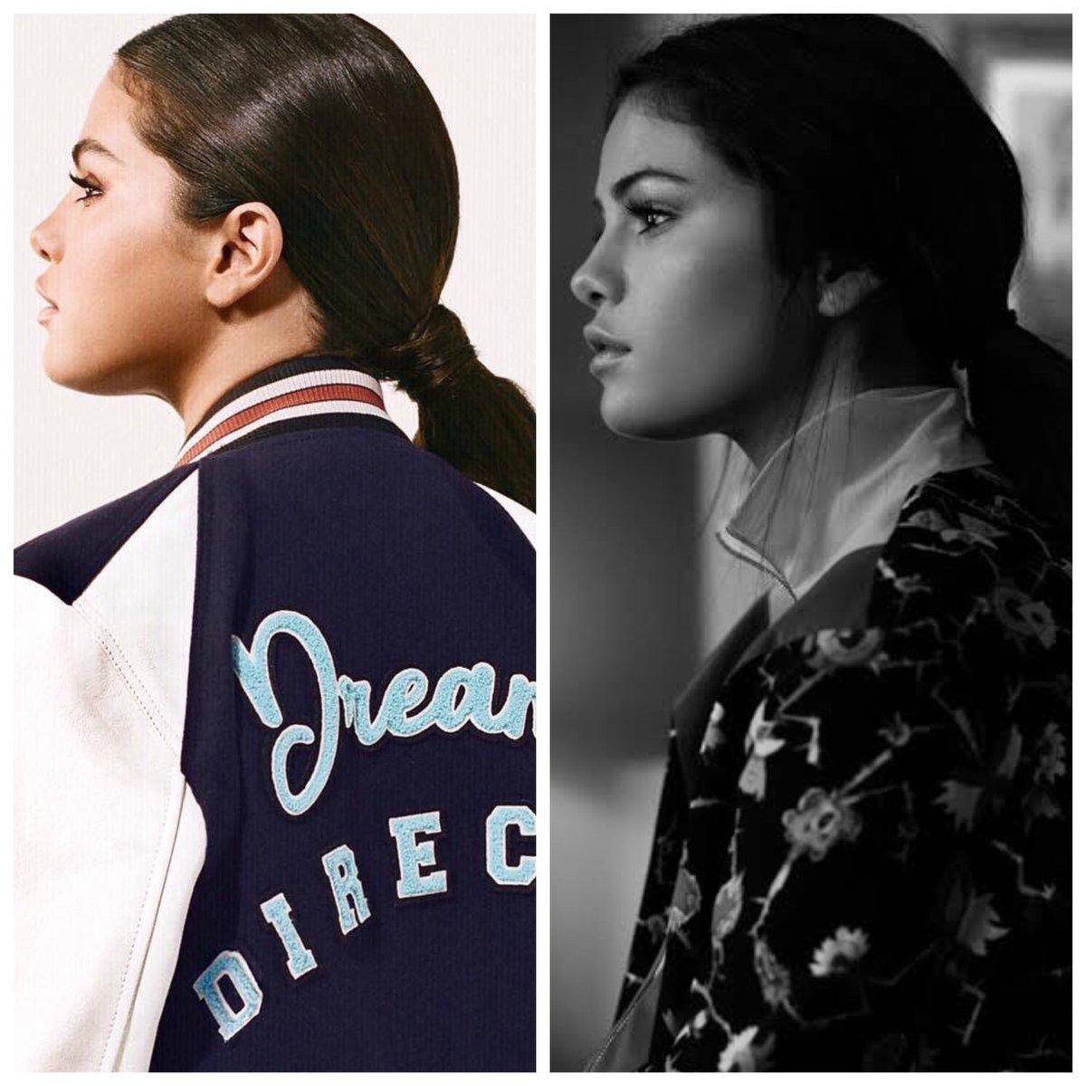 Selena Gomez's side profile😍👌🏻