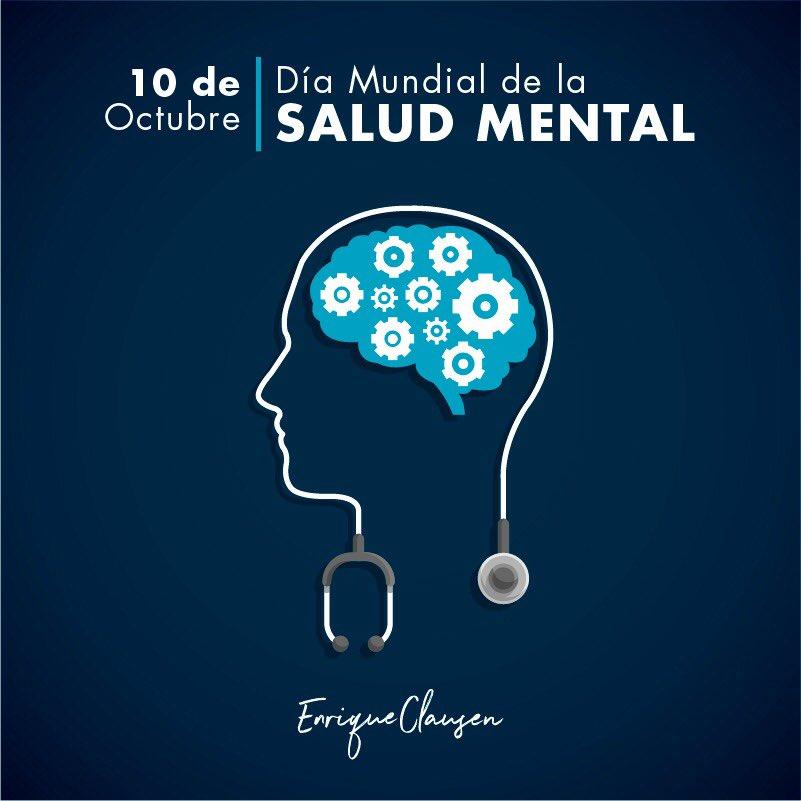 Enrique Clausen's photo on día mundial de la salud mental