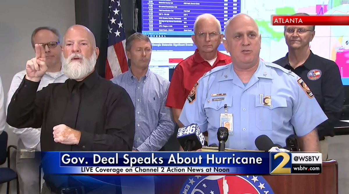 Watch live: gov  deal and gema officials are giving updates