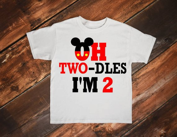 Mickey 2nd Birthday Shirt Mouse Svg Boy Second