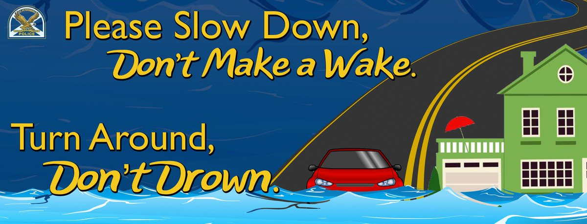 The next high tide is 4:03 p.m. Neighborhoods near water will see street flooding. Driving in high water is dangerous and costly. If you drive in these areas ...Go SLOWLY, so you don&#39;t slosh water into homes. #stpetepd #michaelhurricane #alertstpete<br>http://pic.twitter.com/upS8juOXff