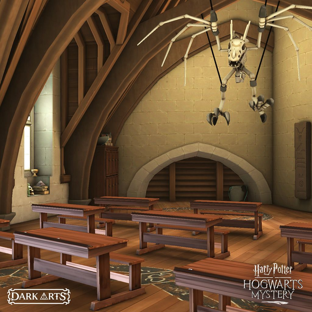 Harry Potter Hogwarts Mystery On Twitter This Classroom Is