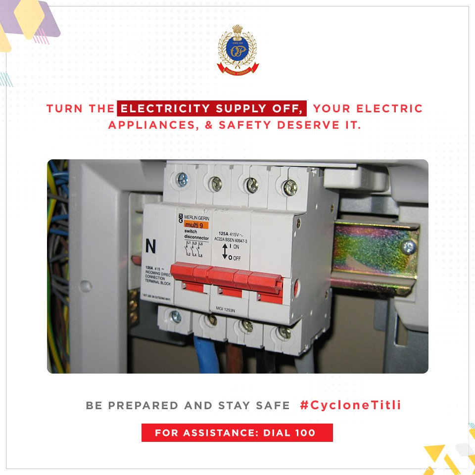 Odisha Police On Twitter Turn Off The Electricity Supply To Your Short Circuit Appliances 1004 Am 10 Oct 2018