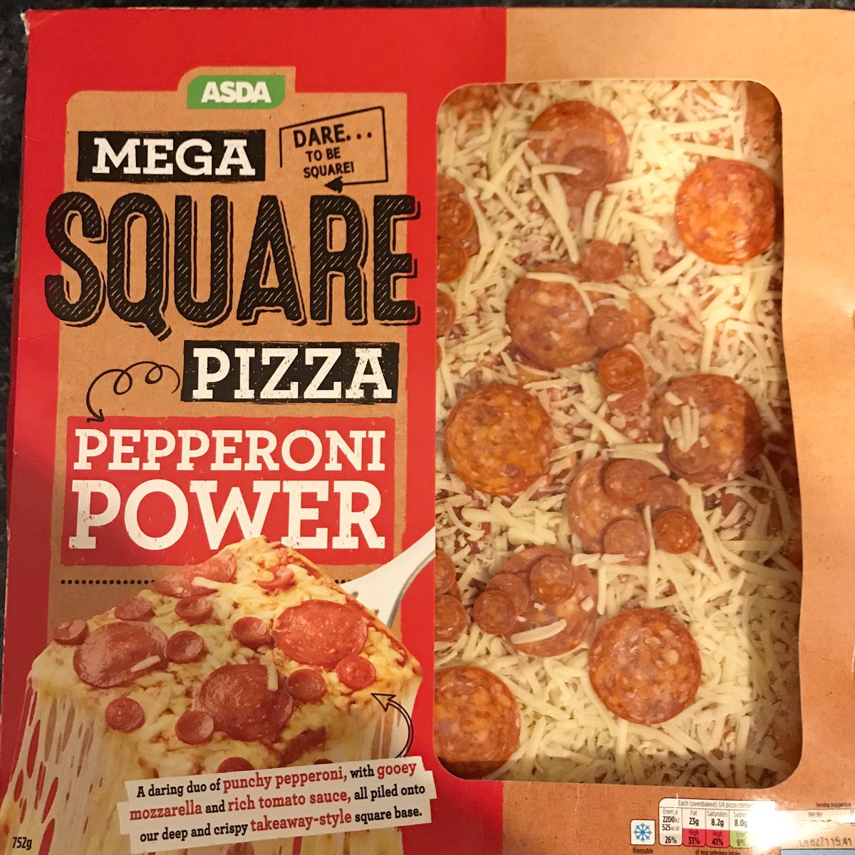Well This Is New On Twitter Mega Square Pizza At Asda