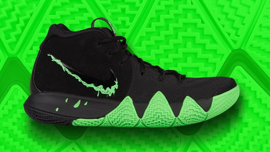 0fb9b0cf8b8b69 Trick or treat  The  Nike Kyrie 4 drops in a Halloween-inspired colorway on  10 16.  Nike  Kyriepic.twitter.com i7ZVB7kfrZ. 10 30 AM - 10 Oct 2018