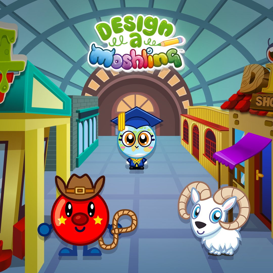 Check out our new Moshlings created by last years competition winners! You can now access ALL our games in the Moshi Monsters Egg Hunt app for FREE! Download now -   Apple https://apple.co/2MIiKR6  GooglePlay http://bit.ly/2QFAwr6  #moshi #moshimonsters #moshiegghunt  💜 💚 💙