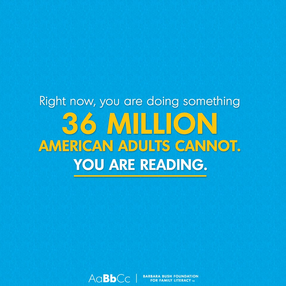 Do Children Have Right To Literacy >> Barbara Bush Foundation For Family Literacy On Twitter Our Founder