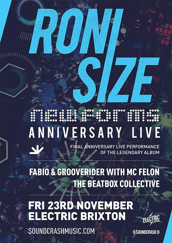 📢📢 N E W A C T S A N N O U N C E D📢📢 My final live performance of New Forms is quickly approaching Joining us on this epic night is @fabioandgroove with @FELONMC @TheRealTBC Going to be huge! Grab your tickets here ⬇⬇⬇ buff.ly/2Pc9CX2