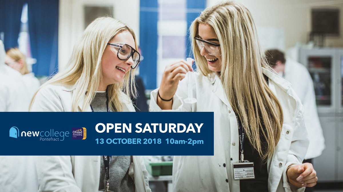 OPEN SATURDAY  Saturday 13th October  |  10am-2pm  Find out more on our website:  https://t.co/LOdypO4b8X