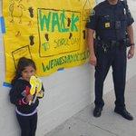 Image for the Tweet beginning: Edison School celebrated Walk to