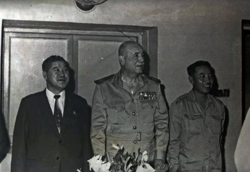 من بيونج يانج الى قناة السويس- المشاركه الكوريه الشماليه في حرب اكتوبر DpKmyn-WwAEbqON