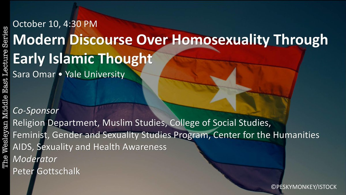test Twitter Media - Join the Middle Eastern Student Union in PAC 001 today @ 4:30pm for a discussion on Modern Discourse Over Homosexuality Through Early Islamic Thought with Sara Omar from the Yale Council on Middle East Studies. https://t.co/ulGpy8yxFY https://t.co/Q2ZI9Beieb