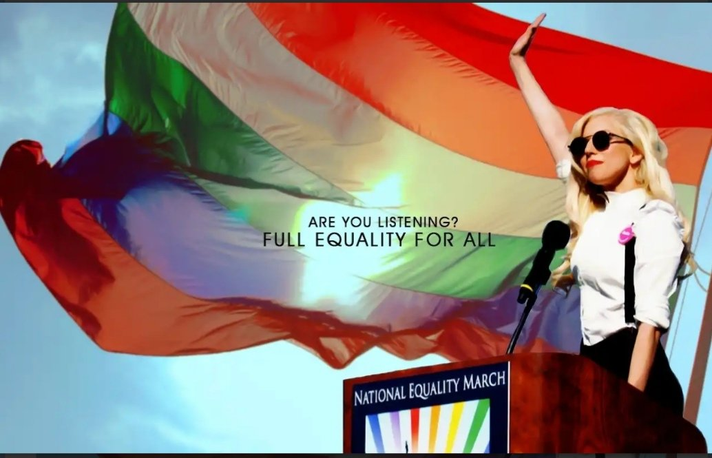 Lady gaga's fabulous, super gay super bowl national anthem