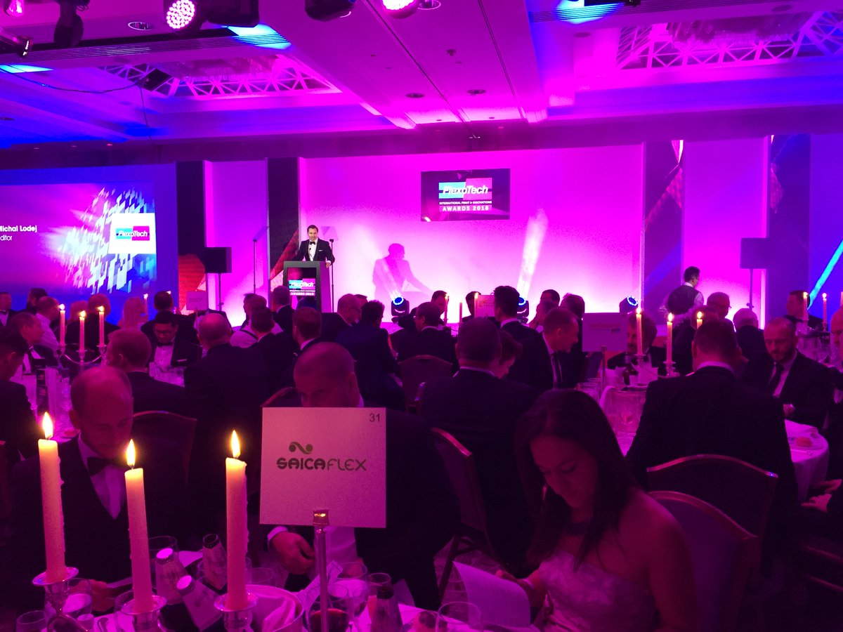 Good luck to all the finalist in tonights @FlexoTechMag Awards at the London Lancaster. Fingers crossed. #flexotechawards2018 #packaging #finalist #printing #flexo https://t.co/Z6gDZuoB4O