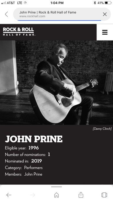 Hey please give John Prine the Colbert Bump! Also a Happy Birthday !