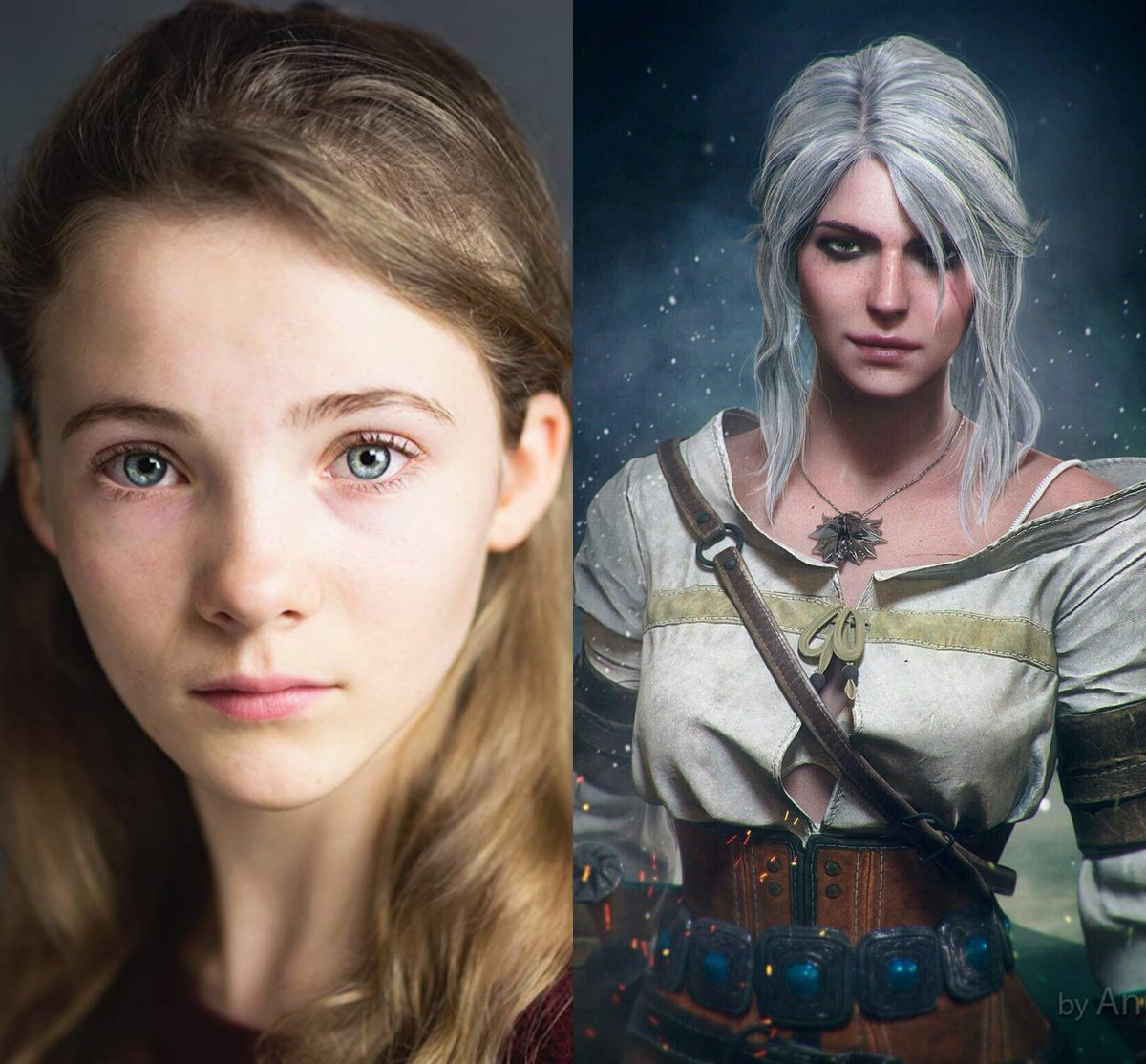 Ciri will be played by Freya Allan. #TheWitcher #Ciri<br>http://pic.twitter.com/nAEkYp88lg