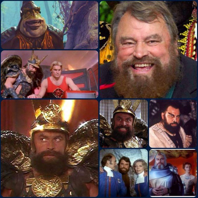 Happy Birthday to the awesome Brian Blessed!