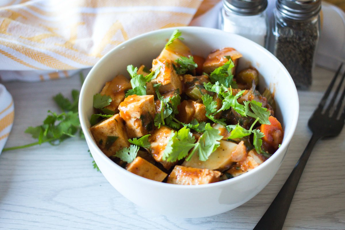 Tofu and Vegetable Stew https://t.co/KsDCauPNhR https://t.co/bDcsvAB007