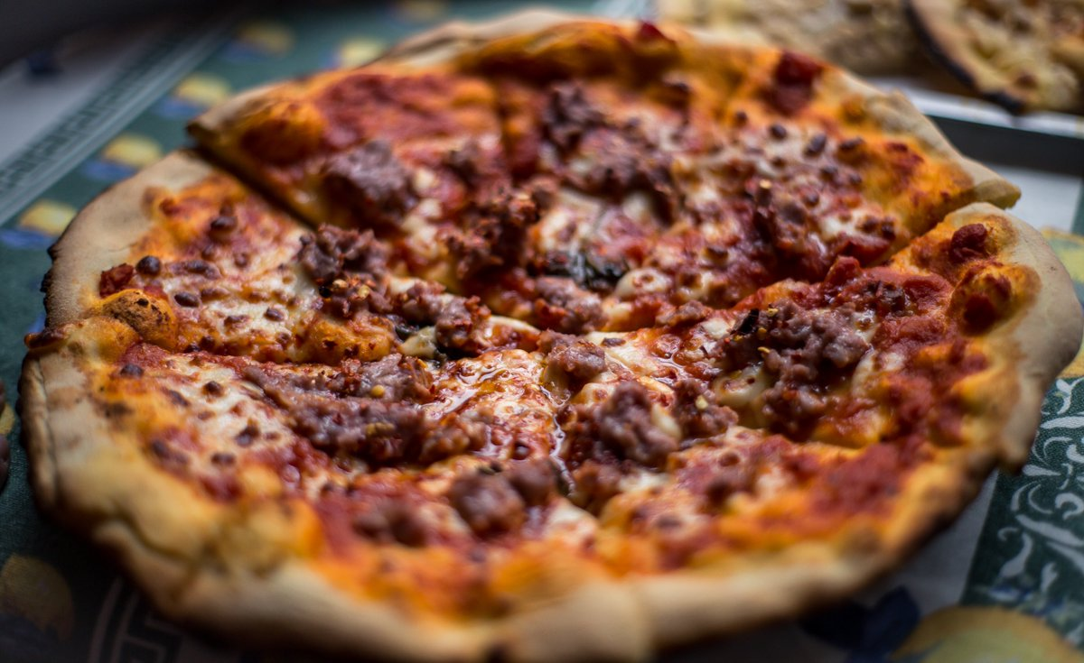 October is #NationalPizzaMonth + taking that pizza obsession one step further is #NationalSausagePizzaDay, celebrated today! <br>http://pic.twitter.com/PbF2jpH1cu