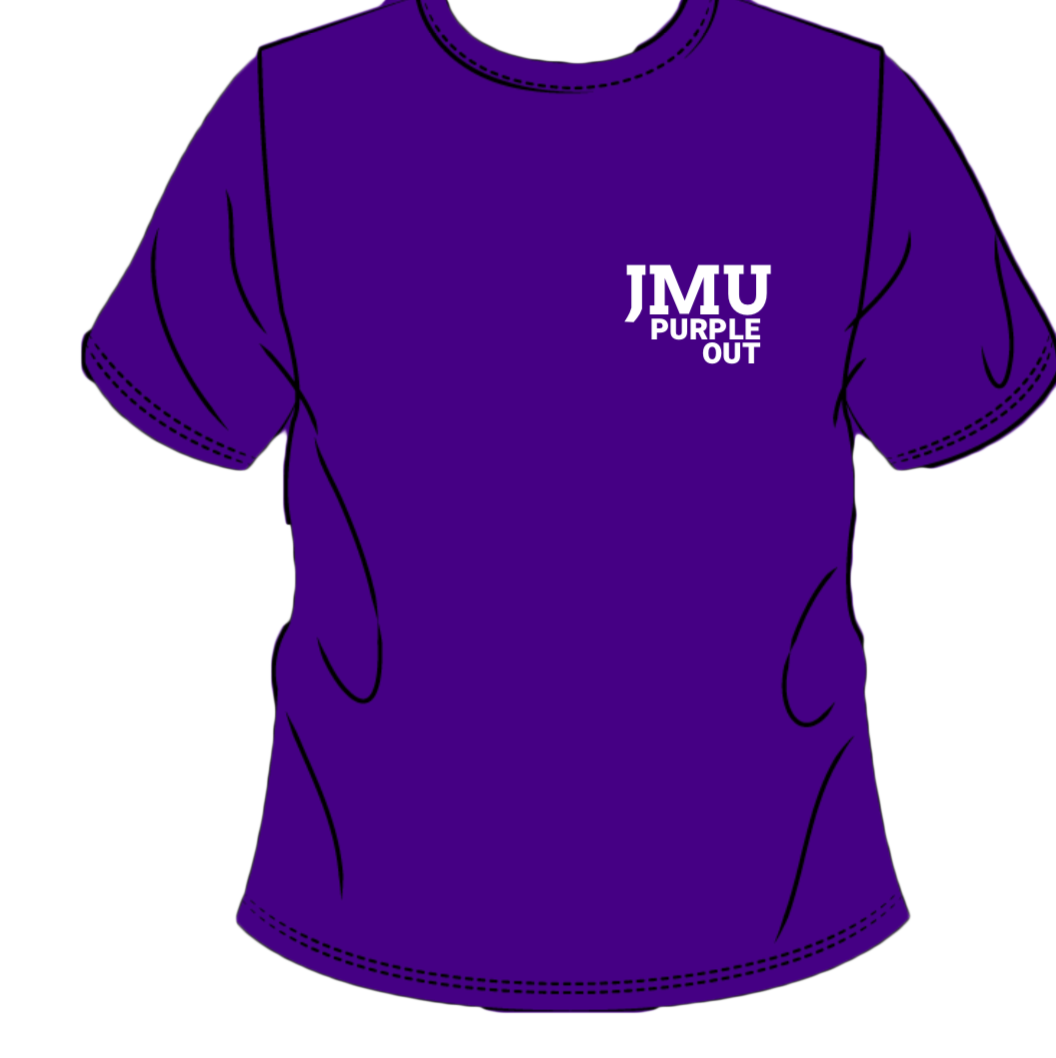 Jmu Sga On Twitter It S Time Here Is The New Purple Out Shirt