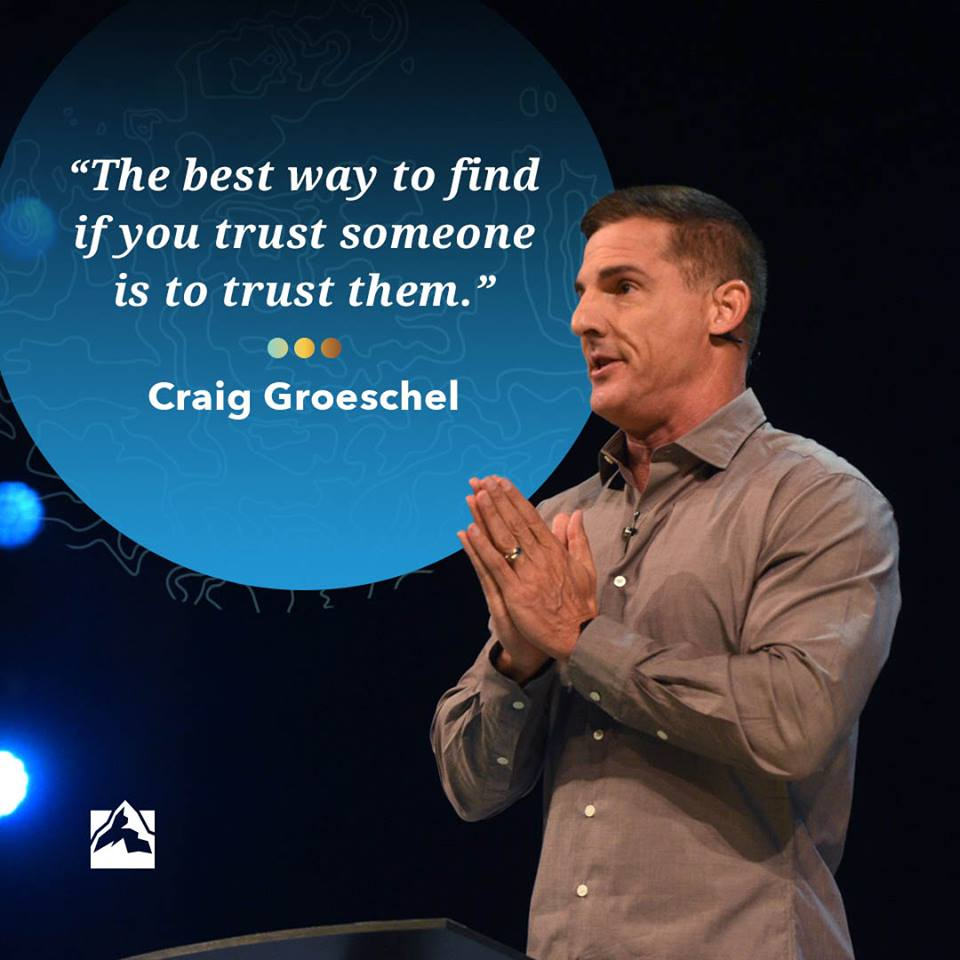 We've been thinking about this quote from Craig Groeschel at #GLS18. What do you think? Seems so simple, yet is often so hard. <br>http://pic.twitter.com/YdzKGtrtvd