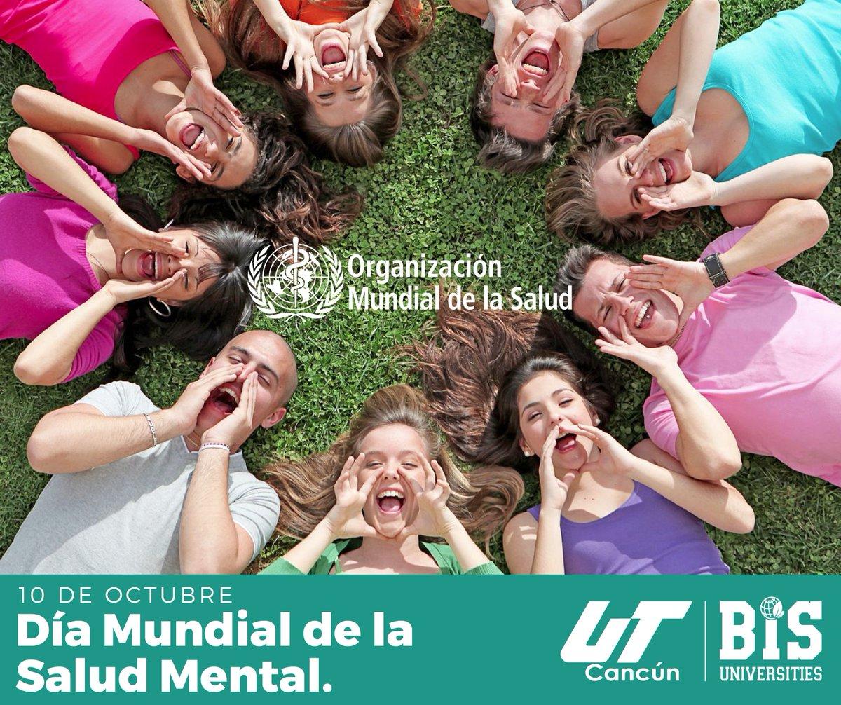 UT Cancún BIS's photo on día mundial de la salud mental