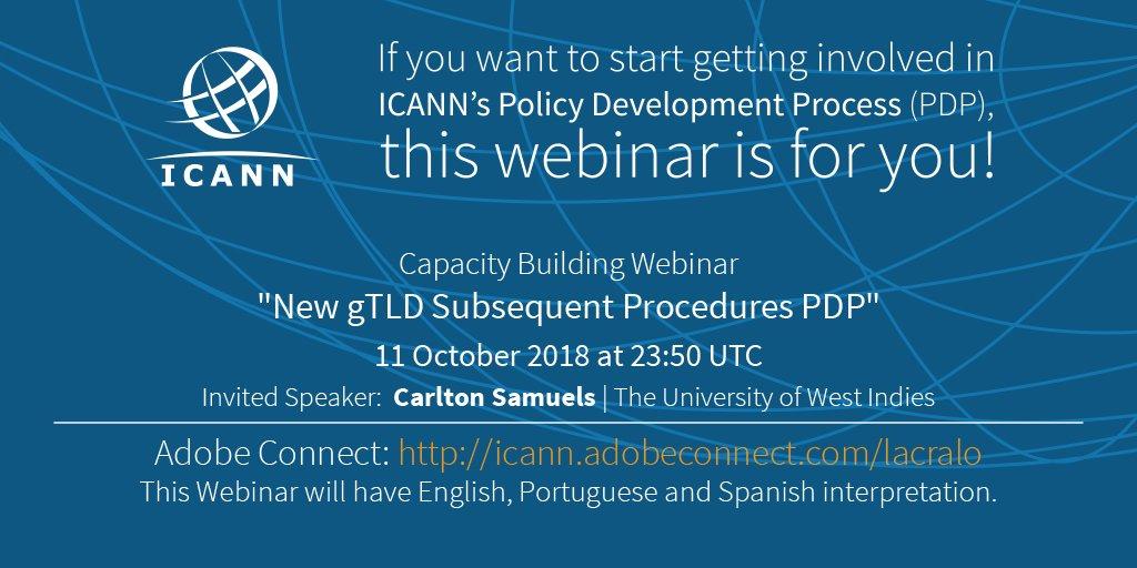 "ICANN on Twitter: ""Tomorrow! D..."