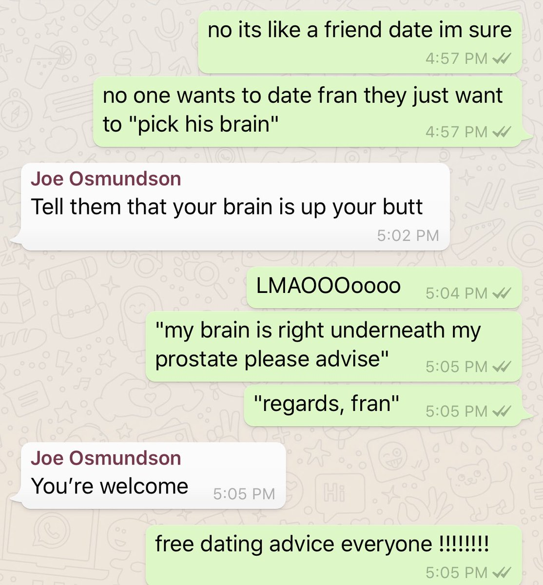 Free dating site advise or advice