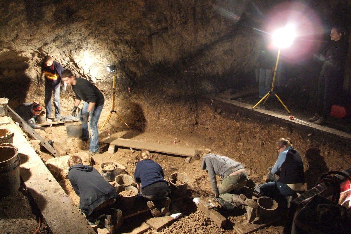 археологические находки в пещере во франции фото фигурка также уступала