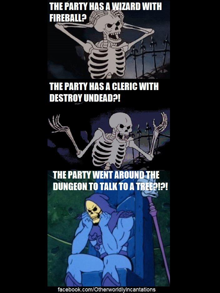 Tril On Twitter Backlog Oc Dd Meme I Made Sad Skeletor