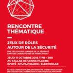 Image for the Tweet beginning: JEUX DE RÔLES AUTOUR DE