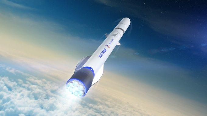Fundador de Amazon Jeff Bezos viaja al espacio con su hermano