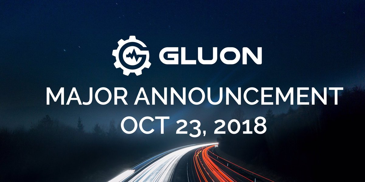 GLUON   Official Account on Twitter: