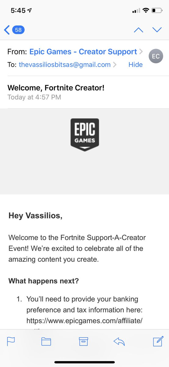 Your boy is Epic (Fortnite) Partnered! @EpicGames