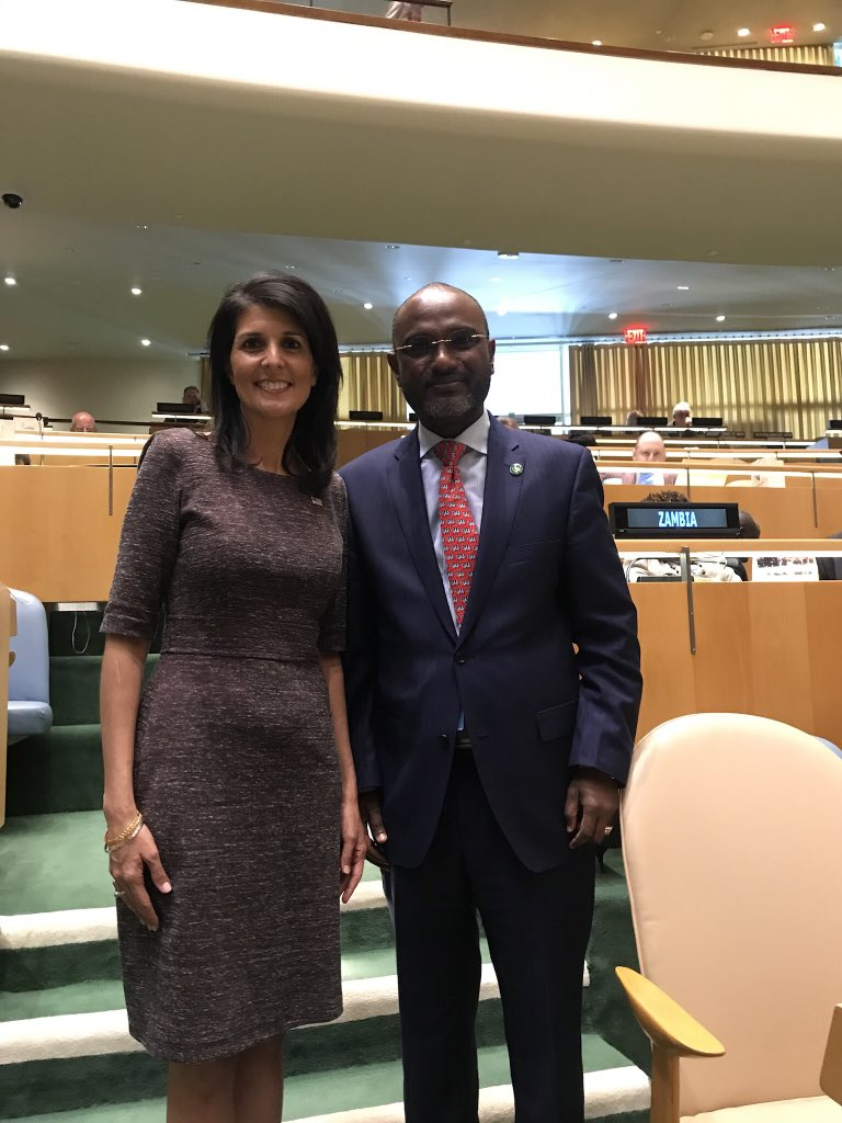 It was an honor and a privilege working with @nikkihaley . Your friendship , humility and professionalism will be missed. The only consolation is that your will be in New York until the end of 2018.