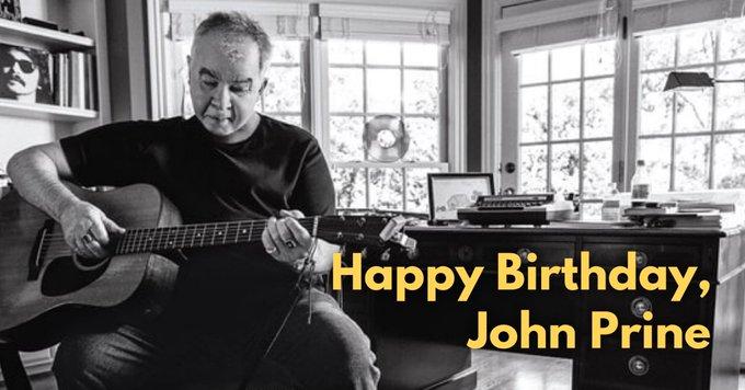 Happy Birthday to American music icon, John Prine! What s your favorite John Prine song?