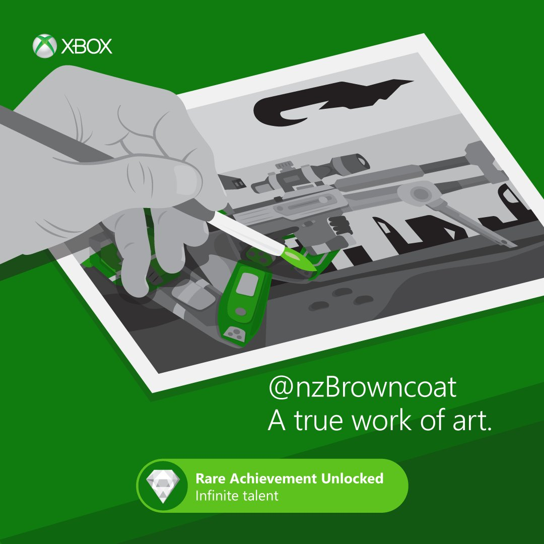 An artist and a gamer. We love that combo! #Xbox https://t.co