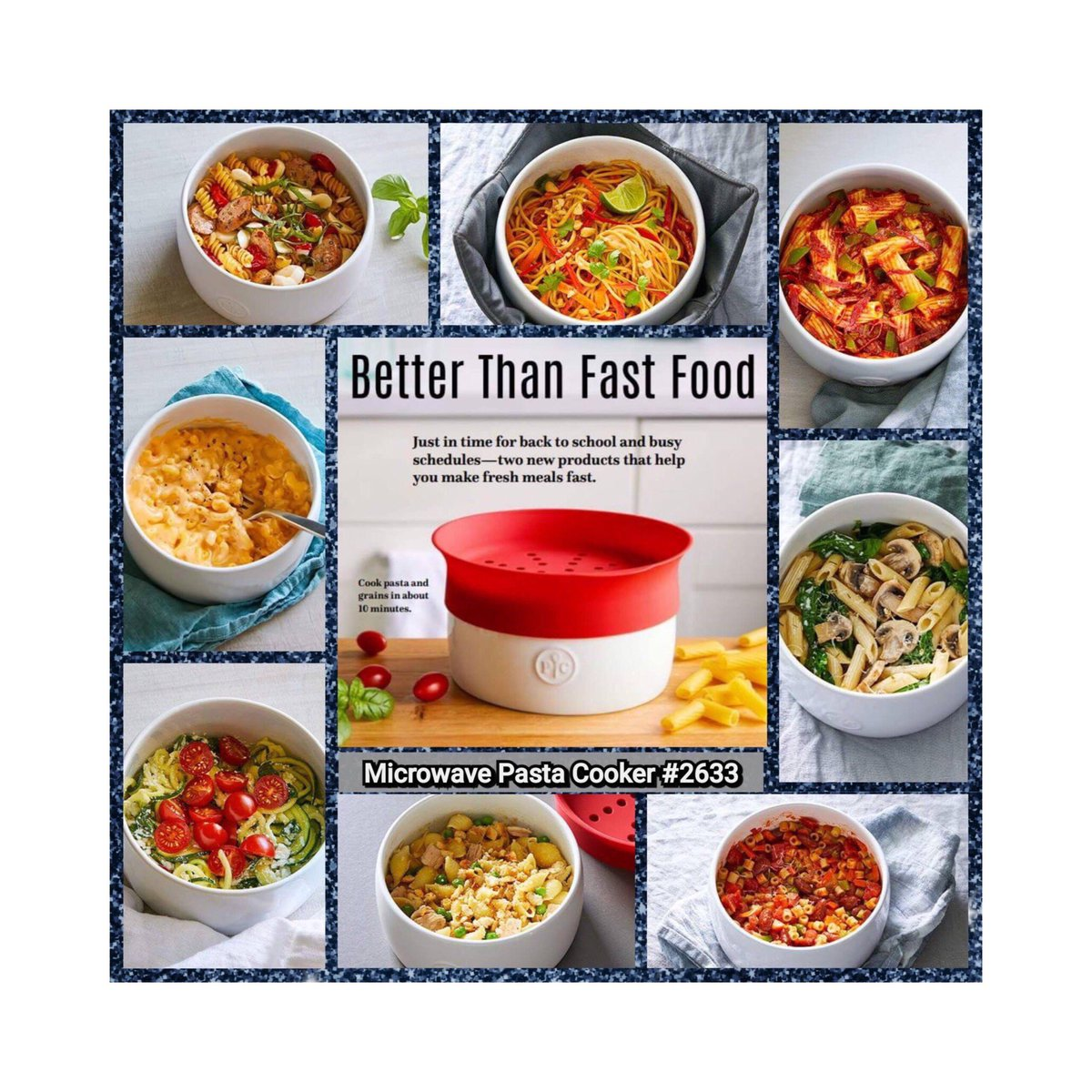 PAMPERED CHEF PASTA COOKER NEW OUT 2018 Steamers, Stock & Pasta ...