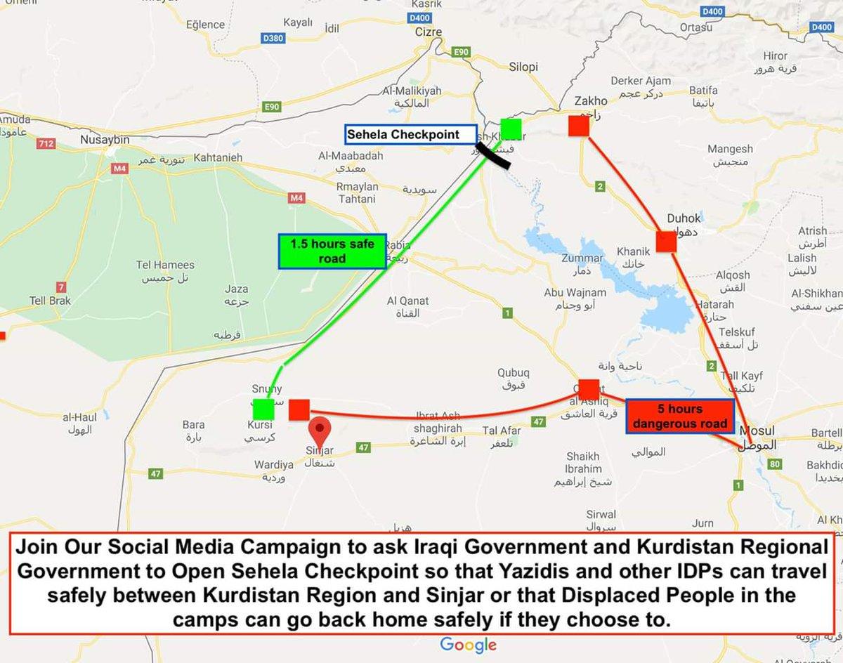 Shingal Irak Karte.Sehelaroad Hashtag On Twitter