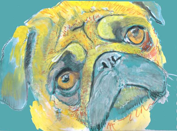... art-pug-gift-ideas-unique-pug-gift-pug-print-pug-gift-for-her-pug-mom- gift-pug-dog-wall-art-pug-art-gift-colorful-pug-print u2026  sc 1 st  Twitter & Oscar Jetson Artist on Twitter: